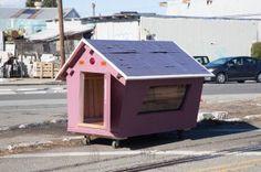 Mini casas para indigentes