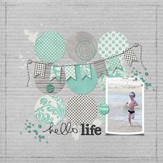 Hello Life Scrapbook Layout hello_life_darling_papers_jenelle