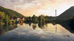 Una river, Bosanska otoka