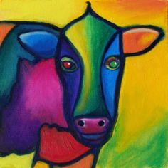 cow art lesson - Google Search