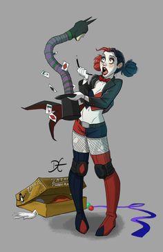 Comicon'15   3D   Zatanna + Harley Quinn