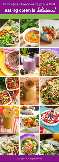 Need some clean eating approved, healthy recipe inspiration? You'll find it here!