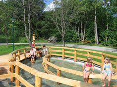 Naturbad & Wasserpark in Russbach am Pass Gschütt » Urlaub in Hallstatt im Salzkammergut Hallstatt, Travel, Canoe, Swimming, Natural Bathroom, Water Slides, Amusement Parks, Communities Unit, Viajes
