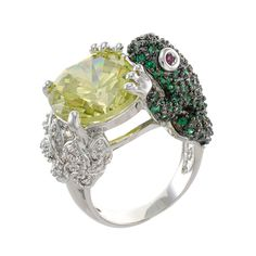 Kenneth Jay Lane Frog Ring