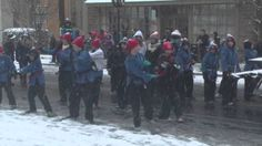 Short video of the holiday parade 2013