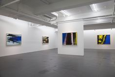 "Installation view of ""Hans Hartung (1904-1989) Abstraction: A Human Language"""