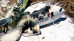 An Asiana Airlines plane crashed while landing at San Francisco International Airport Saturday, July 6, 2013