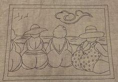 Patchwork quilt patterns ideas appliques embroidery 41 ideas for 2019 Patchwork Quilt Patterns, Rug Hooking Patterns, Applique Patterns, Applique Quilts, Embroidery Applique, Embroidery Stitches, Machine Embroidery, Embroidery Designs, Embroidery Tattoo