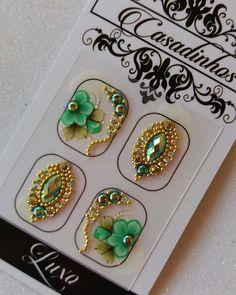 Gorgeous Nails, Love Nails, Eyeliner, Perfume, E Design, Make Up, Nail Art, Candy, Beads