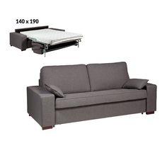 canap 3 4 places convertible indie style scandinave futon celeste couchage 130 190cm flat. Black Bedroom Furniture Sets. Home Design Ideas