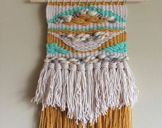 Woven Wall Hanging by WeavingOnTheWall on Etsy