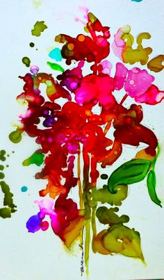 Wendy Videlock ALCOHOL INKS