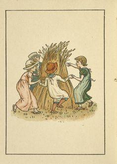 August - Kate Greenaway's Almanack for 1893