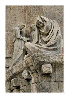 Details, La Sagrada Familia, Barcelona, Spain
