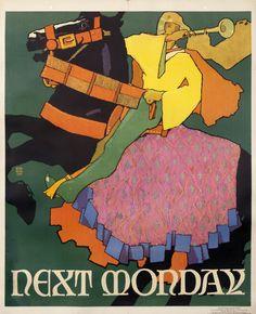 Willard Frederic Elmes Original Poster: Next Monday (Mather Work Incentive)