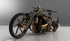 steampunk motorcycle