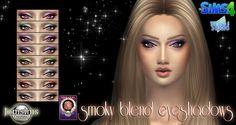 JomsimsCreations : Smoky blend eyeshadows.