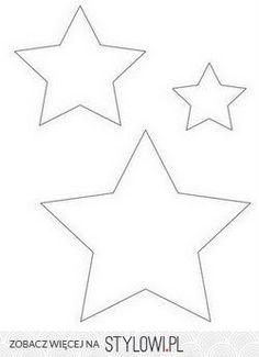 Šablona hvězd