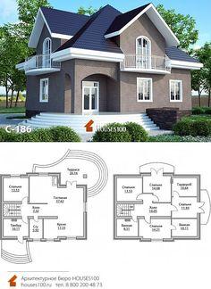 House Plans Mansion, Sims House Plans, Duplex House Plans, Modern House Plans, Row House Design, Duplex House Design, Kerala House Design, Bungalow Style House, House Construction Plan