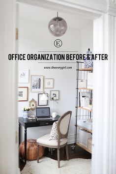 Before you start your home office makeover, focus on what you want to accomplish and find where pretty meets practical.