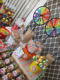 Gorgeous pool party dessert table! See more party ideas at CatchMyParty.com. #poolparty #desserttable boybirthday