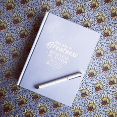 Green Pea's, My Plan to Greatness Business Planner | The perfrect business planner for the mumpreneur/entrepreneur. It's got a section for social media too which is imperative for every start up business these days.