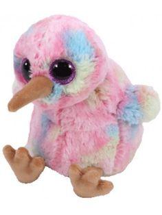 Ty Beanie Babies 36213 Boos Kiwi the Pink Bird Boo 770793cc90c1