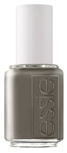 Grey nail polish for cloudy days