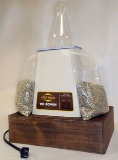 Popcorn Popper Coffee Roaster DIY from Instructables. I LOVE Instructables!!!