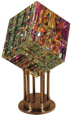 Contemporary Glass Sculptures by Fine Art Glass Artist Jack Storms. Fine art glass designs created from dichroic glass encased into pure lead crystal. Art Of Glass, Glass Artwork, Glass Ceramic, Mosaic Glass, Dichroic Glass, Fused Glass, Jack Storms Glass, Stained Glass Church, Objet D'art