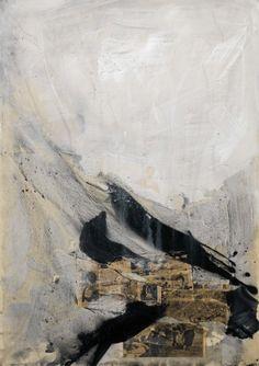 "Romà Vallès, ""El mundo roto II"", collage, 1965"