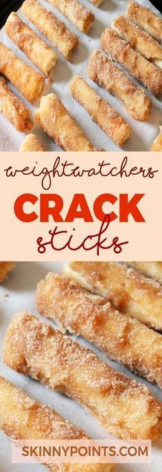 Crack Sticks - Weight watchers smart Points Friendly