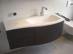Waschtisch mit Unterschrank Sanibel Hacienda-Schwarz | Bathroom ... | {Doppelwaschtisch geschwungen 51}