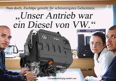 Nun doch, Zschäpe gesteht ihr schmutzigstes Geheimnis: Unser Antrieb war ein Diesel von VW!