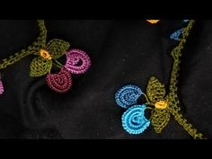 Crochet Necklace, Make It Yourself, Flowers, Diy, Jewelry, Youtube, Dish Towels, Necklaces, Tejidos