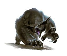 Owlbear - Pathfinder PFRPG DND D&D 3.5 5th ed d20 fantasy