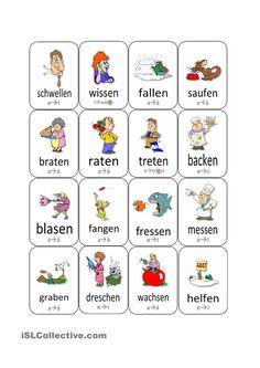 Stammvokaländerung bei Verben (Update)