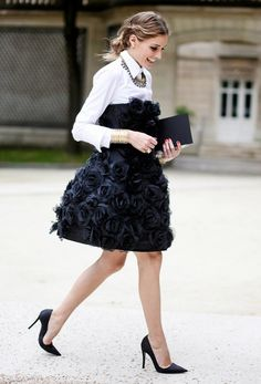 15 Of The Most Glamorous Street Style Photos Ever via @WhoWhatWear