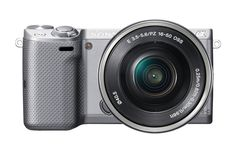 Amazon.com : Sony NEX-5TL Compact Interchangeable Lens Digital Camera with 16-50mm Power Zoom Lens : Compact System Digital Cameras : Camera & Photo
