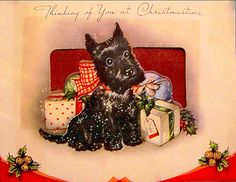 Scottie is thinking of others at Christmastime.