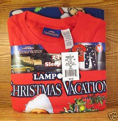 National-Lampoon-Christmas-Vacation-Mens-Set-Nwt-Size-M-Pajamas-Griswold-2pc