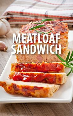 Mario Batali made a great Meatloaf Sandwich recipe to compete against Michael Symon in the Great American Challenge for the Great American Classics episode. The Chew Recipes, Bacon Recipes, Meatloaf Recipes, Healthy Recipes, Yummy Recipes, B Food, Good Food, The Chew Tv Show, Meatloaf Sandwich