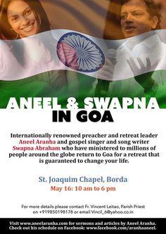 The Global Revival - St. Joaquim Chapel, Borda, Goa - May 16th 2015
