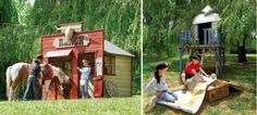 Cool Kids Outdoor Play Houses By Cerland OR chicken coop.....