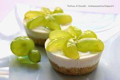Profumo di cannella: Cheesecake con robiola ed uva - fresco aperitivo d...