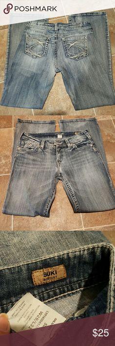 Silver Jeans- Suki bootcut Silver Jeans waist 29 length 32 Stone wash good shape Silver Jeans Jeans Boot Cut