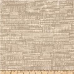 Kaufman Carkai Dash Stripe Parchment
