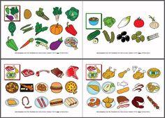 MATERIALES - Vocabulario básico: Comidas y bebidas.    Cuaderno de comunicación que contiene un repertorio básico de alimentos y bebidas.    http://arasaac.org/materiales.php?id_material=40