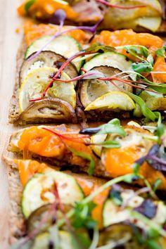 Market Mediterranean #Pizza, #Paleo-Style