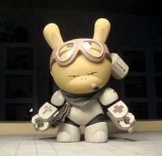 "SpankyStokes.com | Vinyl Toys, Art, Culture, & Everything Inbetween: Huck Gee x Kidrobot's ""Post-Apocalypse"" Dunny Series Predictions!"